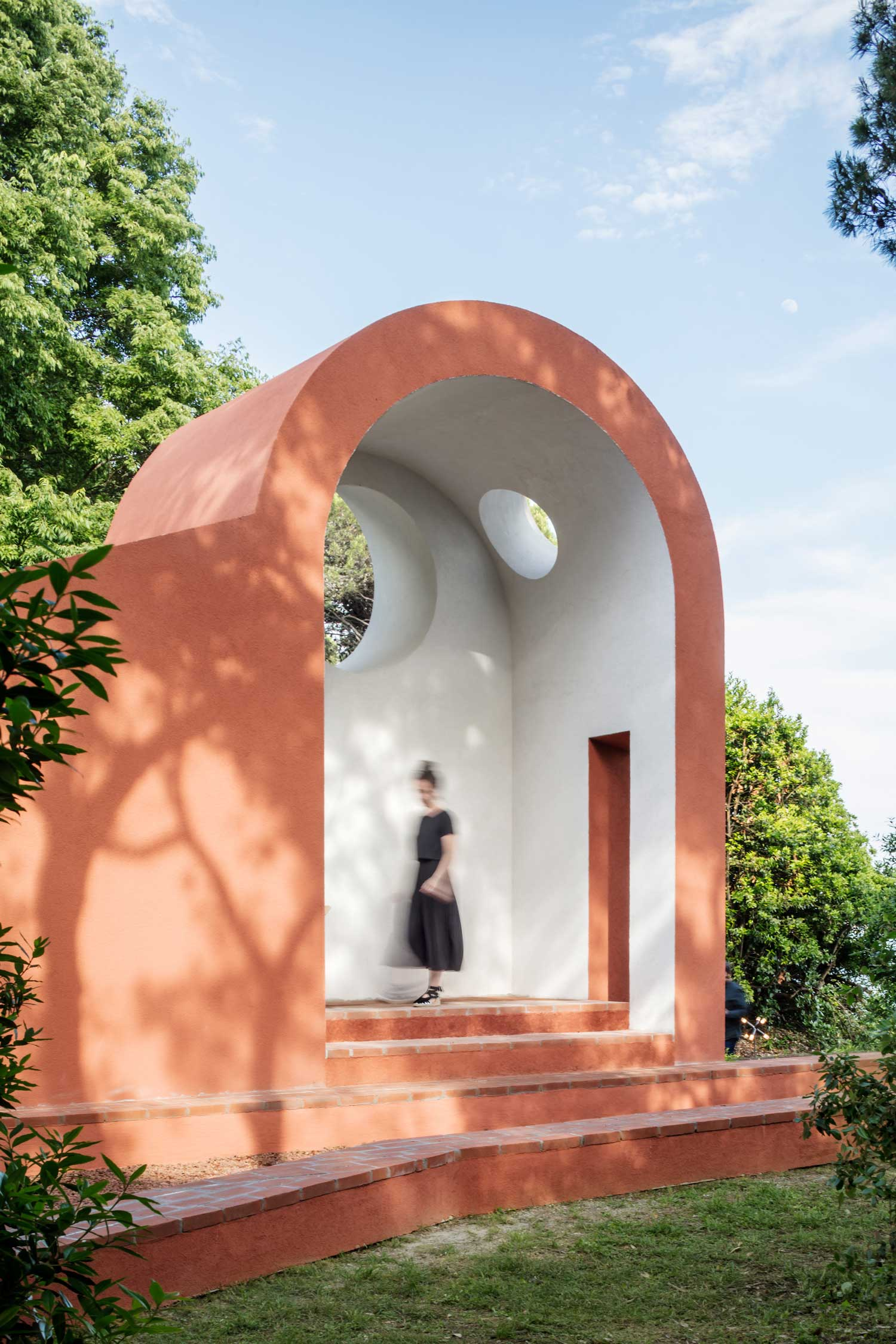 Flores & Prats, Padiglione Vaticano Chapel in a Venice Forest, Venice Architecture Biennale 2018 | Yellowtrace