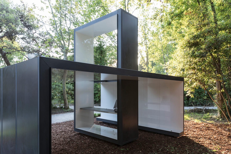 Francesco Cellini, Italy Chapel in a Venice Forest, Venice Architecture Biennale 2018 | Yellowtrace
