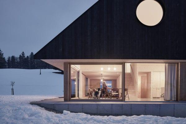 Gable House in Roßleithen, Austria by mia2/Architektur | Yellowtrace