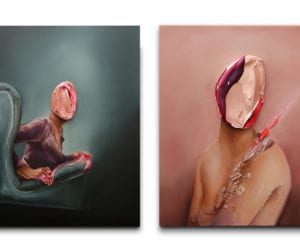 Is It You?: Faceless Painted Portraits by Fabio La Fauci   Yellowtrace
