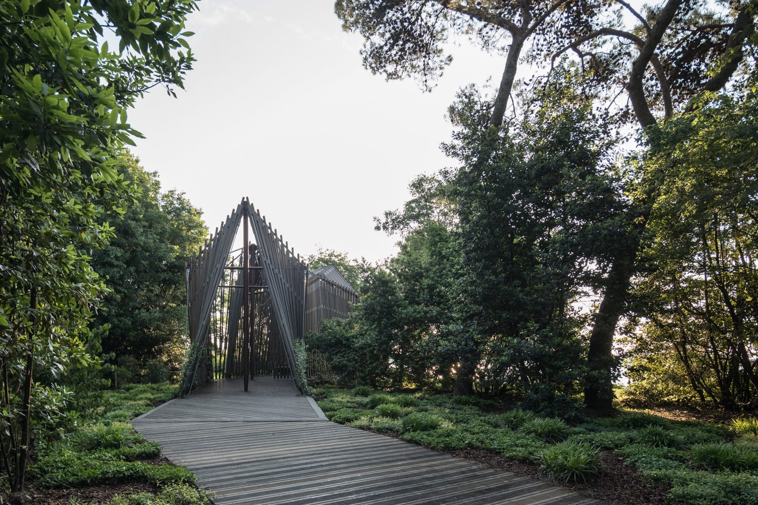 Norman Foster, United Kingdom Chapel in a Venice Forest, Venice Architecture Biennale 2018 | Yellowtrace