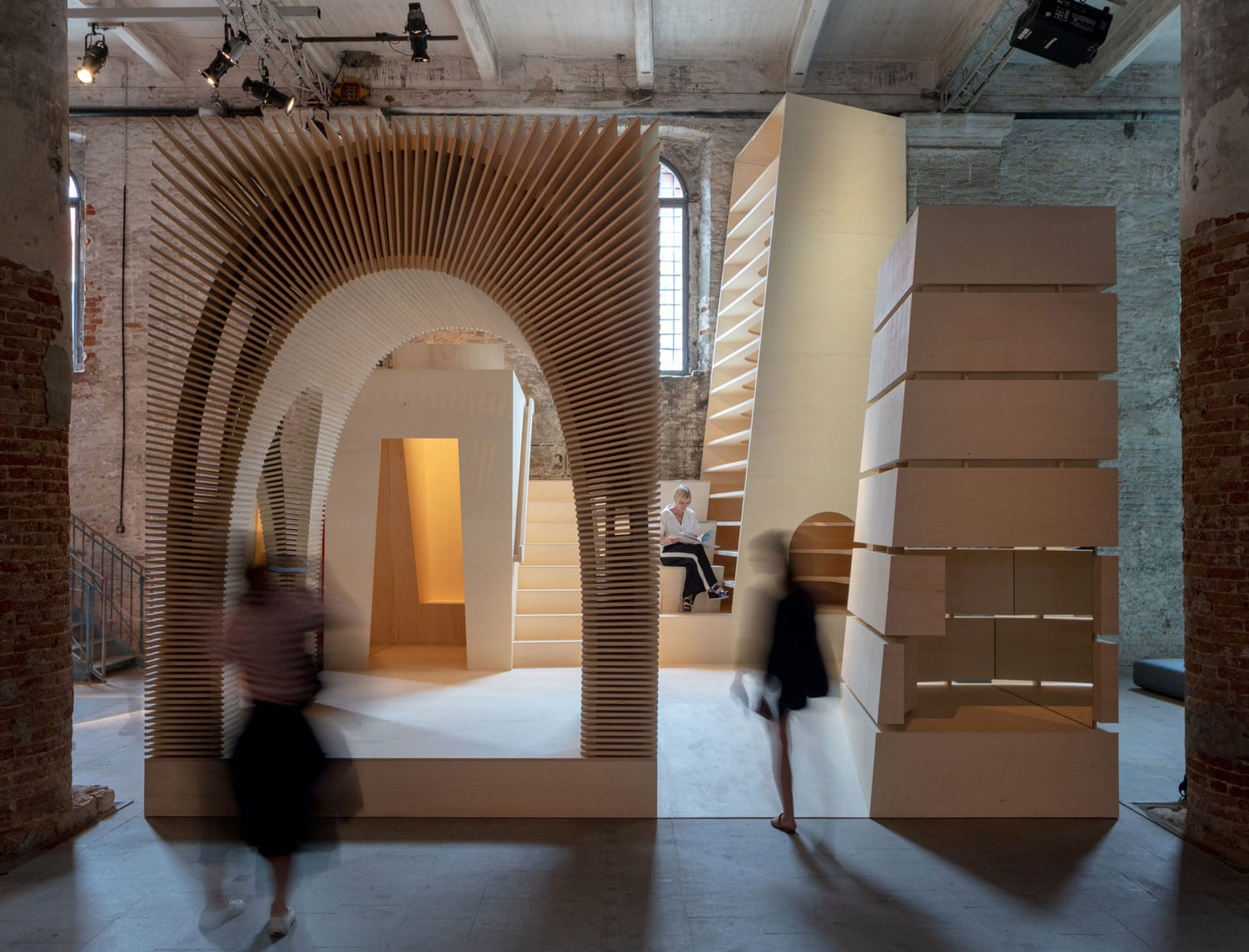ReCasting by Alison Brooks Architects, Venice Architecture Biennale 2018 | Yellowtrace