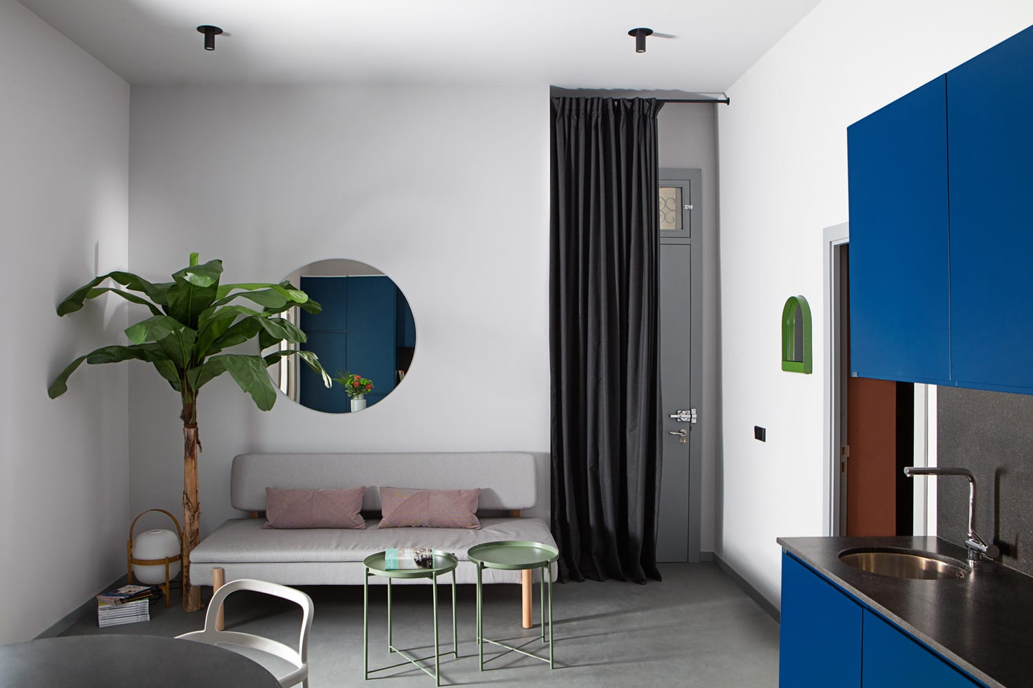 Student Housing Apartment Renovation in Madrid by Plutarco | Yellowtrace