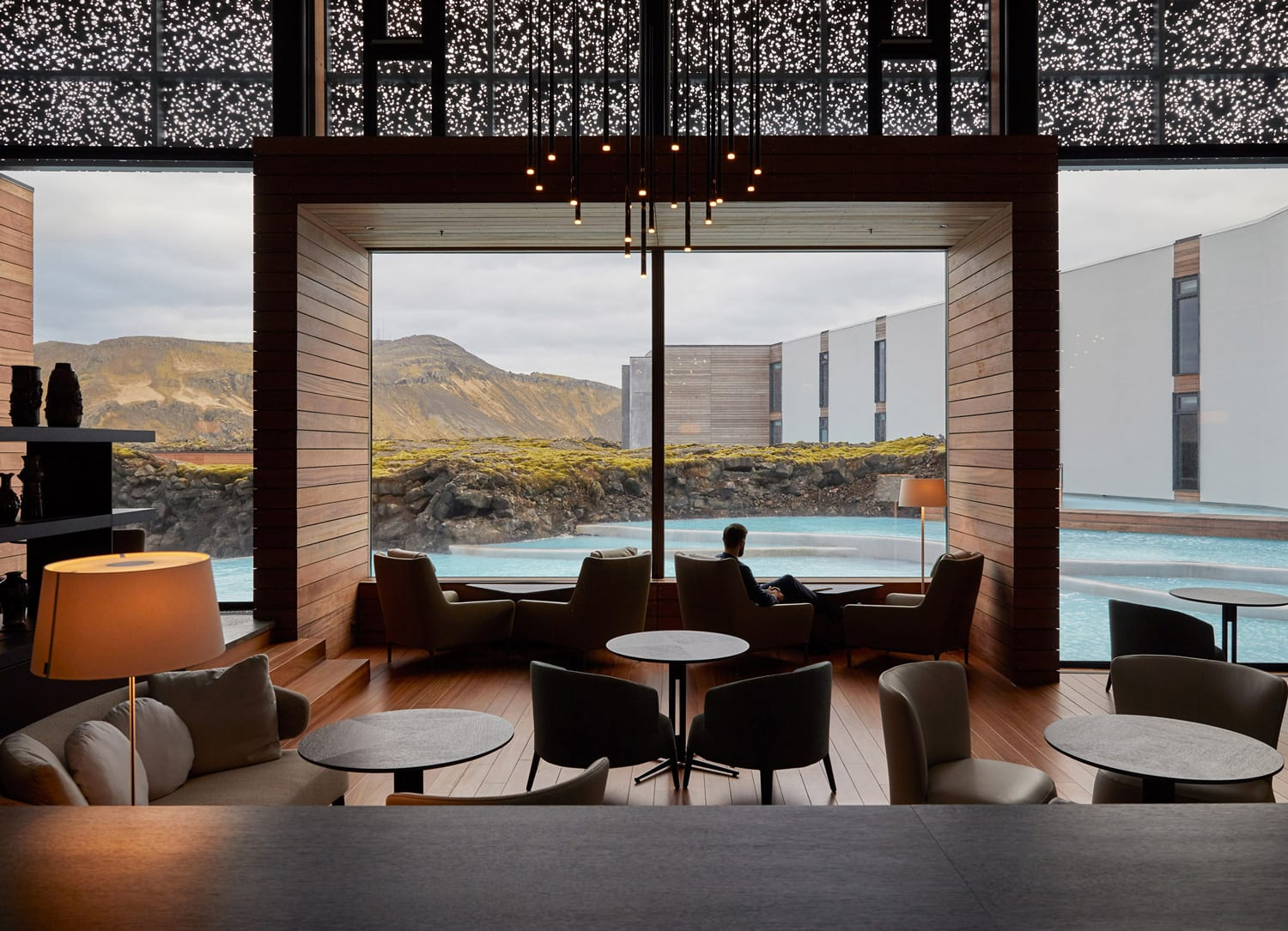 The Retreat Hotel at Blue Lagoon in Grindavík, Iceland by Basalt Architects & Design Group Italia.