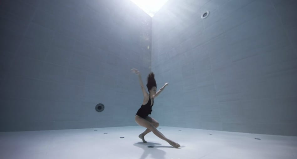 Underwater Cinematographer Julie Gautier Captures Sublime Choreography in the World's Deepest Pool | Yellowtrace