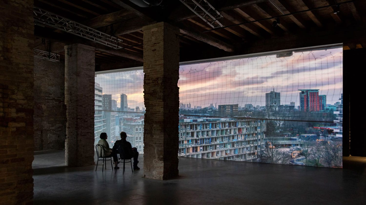 V&A Demolished Robin Hood Gardens, Venice Architecture Biennale 2018 | Yellowtrace