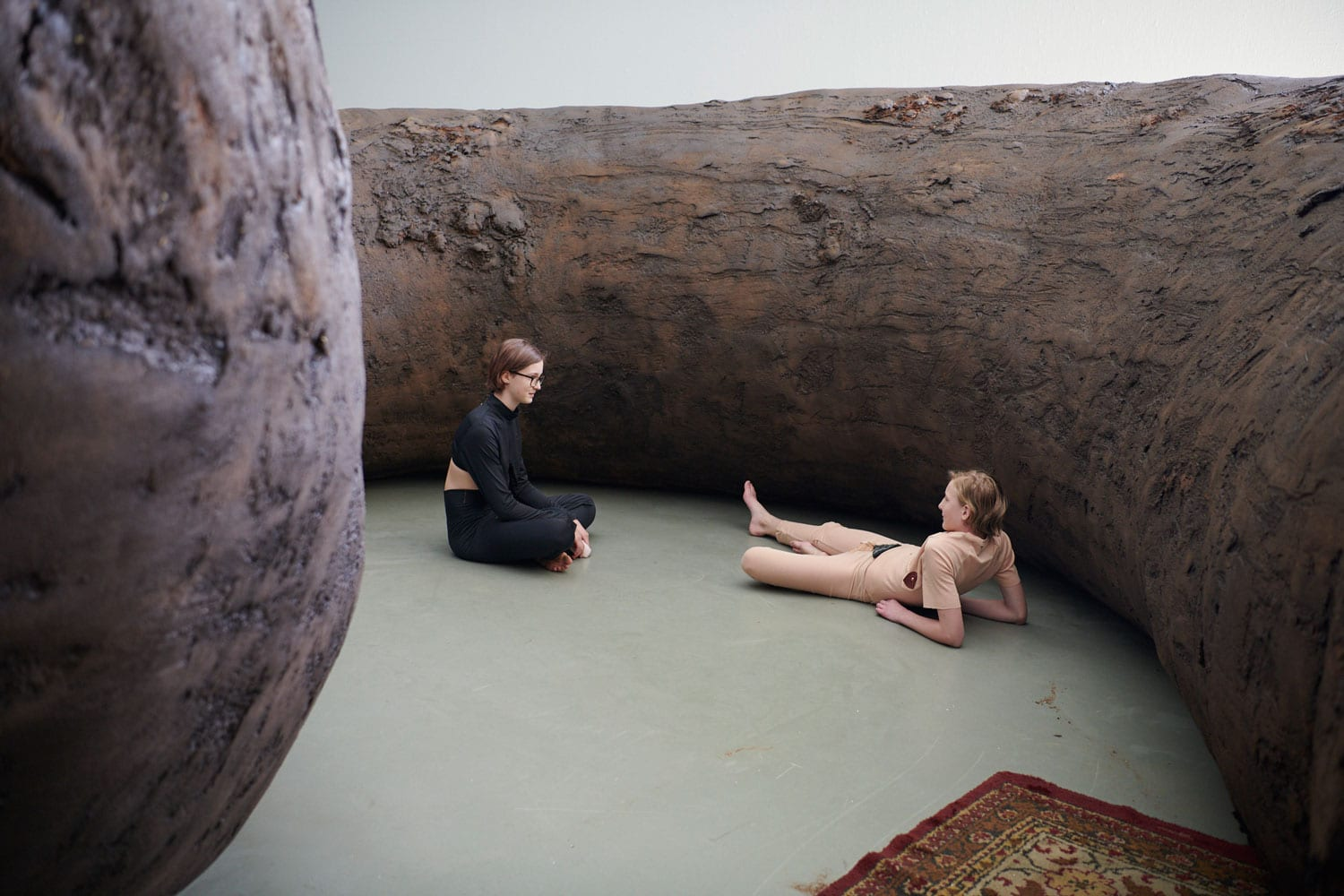Vorm - Fellows - Attitude Installs Monumental Turd-Like Sculptures at Museum Boijmans Van Beuningen, Rotterdam | Yellowtrace