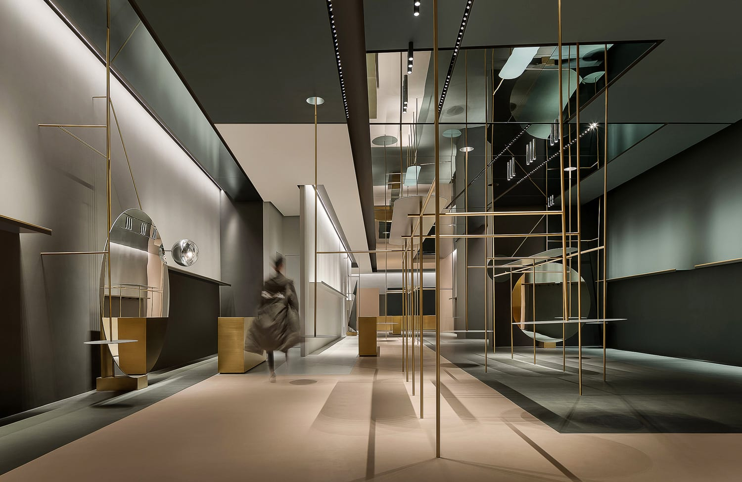 1WOR Flagship Store in Shenzhen, China by DOMANI | Yellowtrace