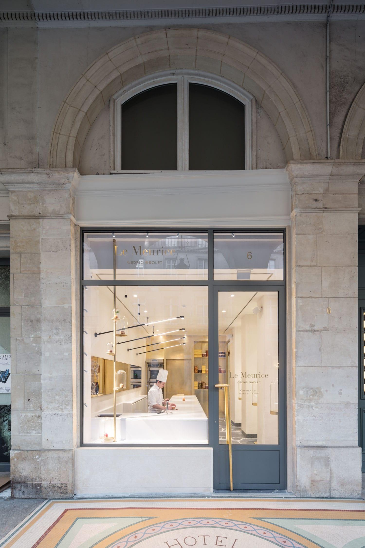 Cédric Grolet\u0027s Meurice Patisserie in Paris by Ciguë