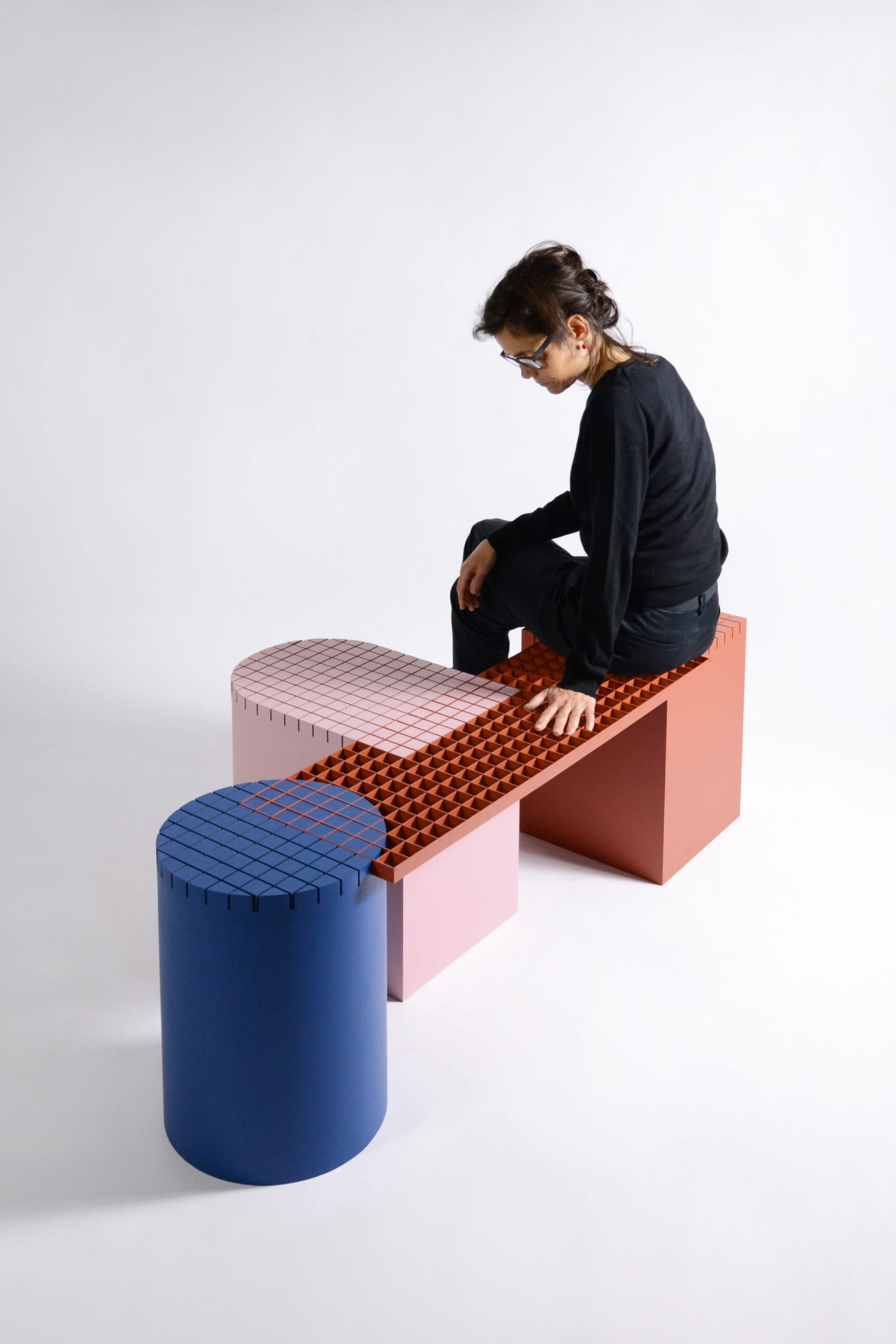 Colourful, Geometric Small Furniture Pieces by Antwerp-based Nortstudio | Yellowtrace