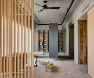 Din-a-ka Residence in Taipei, Taiwan by Wei Yi International Design Associates   Yellowtrace