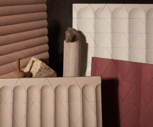 Flutes & Reeds Cast Concrete Tiles by GRT Architects for Kaza Concrete   Yellowtrace