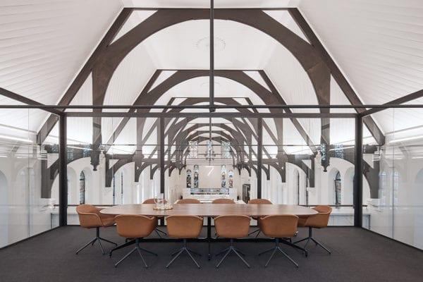 Former Church in Surry Hills Transformed into a Workplace by Squillace Architects | Yellowtrace