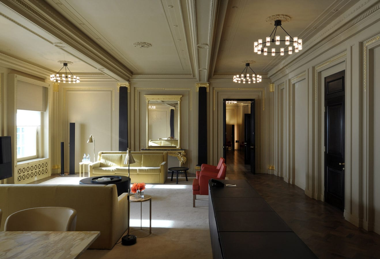 Hotel Café Royal in London by David Chipperfield | Yellowtrace