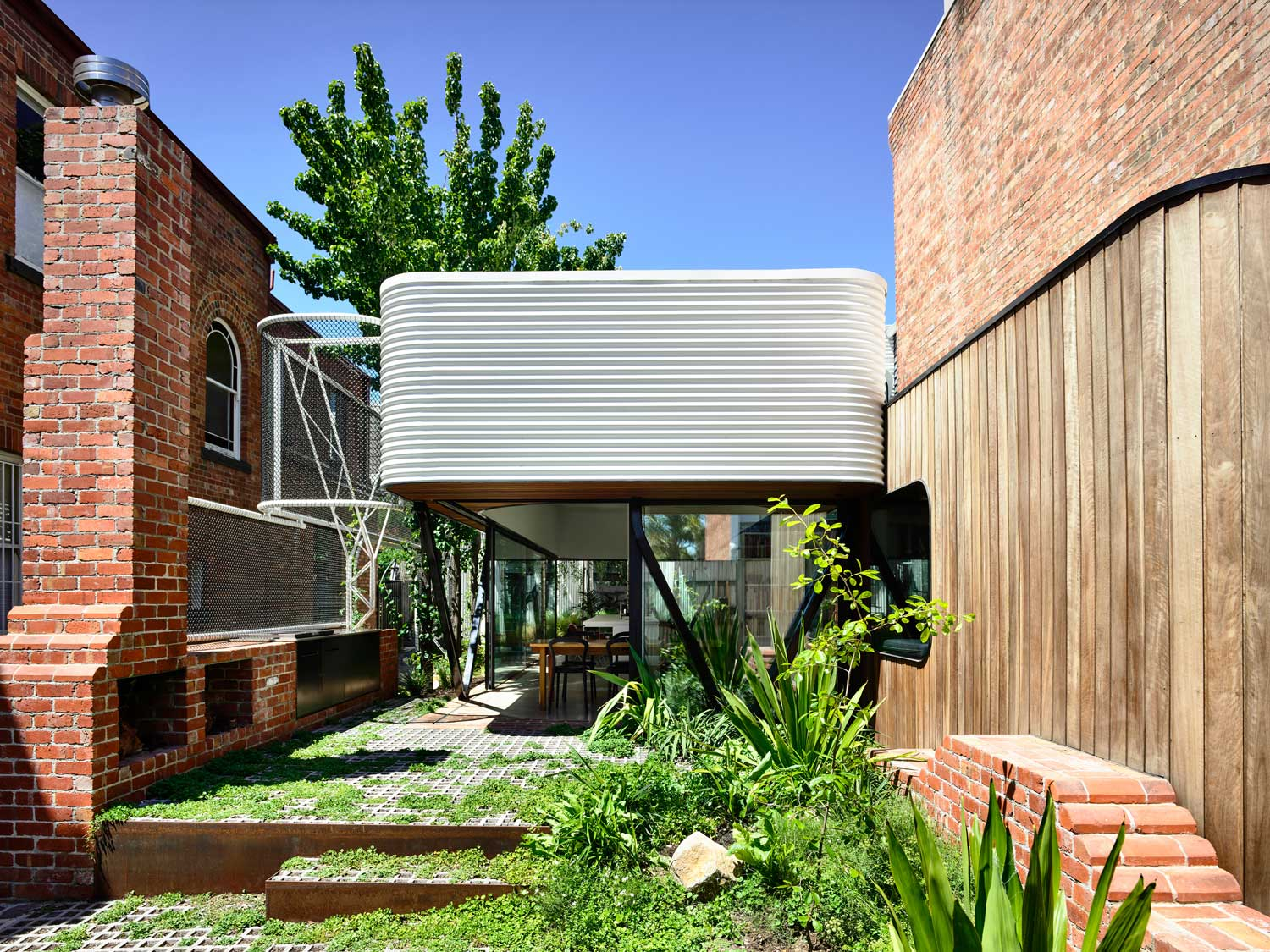 King Bill House in Fitzroy, Melbourne by Austin Maynard Architects.