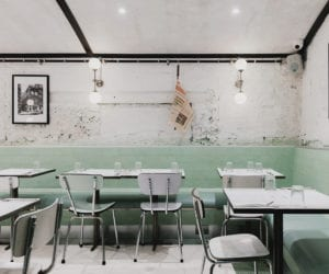 Red Deer Architects Design Mid-Century Pasta Restaurant for London Institution Lina Stores   Yellowtrace