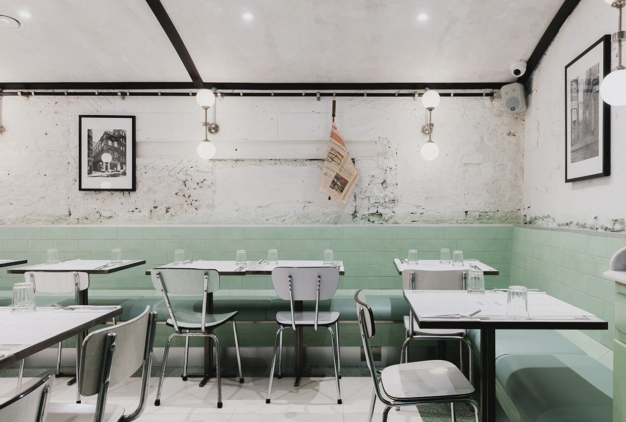 Red Deer Architects Design Mid-Century Pasta Restaurant for London Institution Lina Stores | Yellowtrace