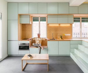 Small Apartment Renovation in Madrid, Spain by Elii Architects   Yellowtrace