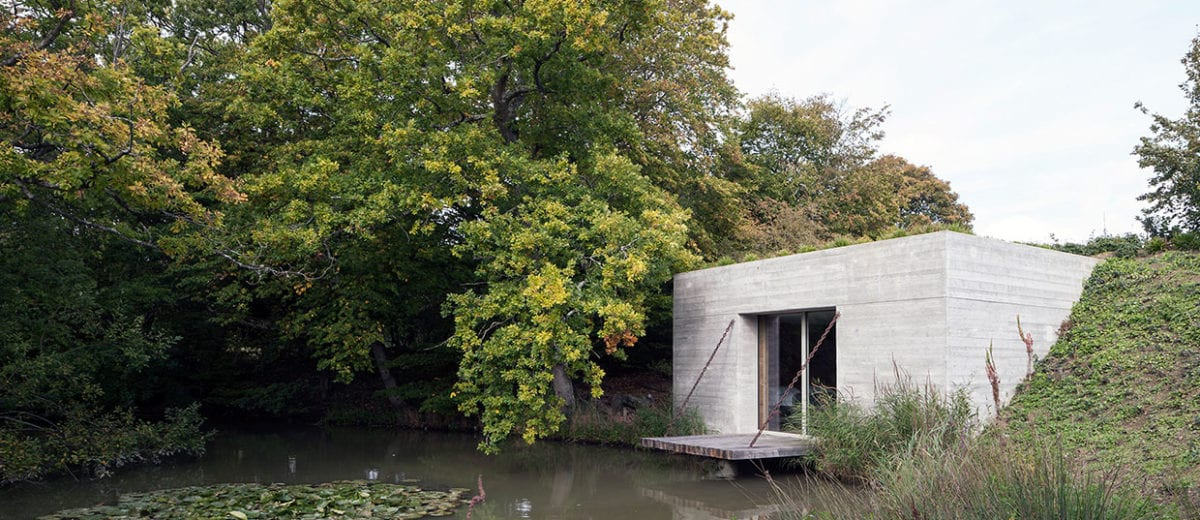 Two Pavilions in Rural East Sussex, UK by Carmody Groarke | Yellowtrace