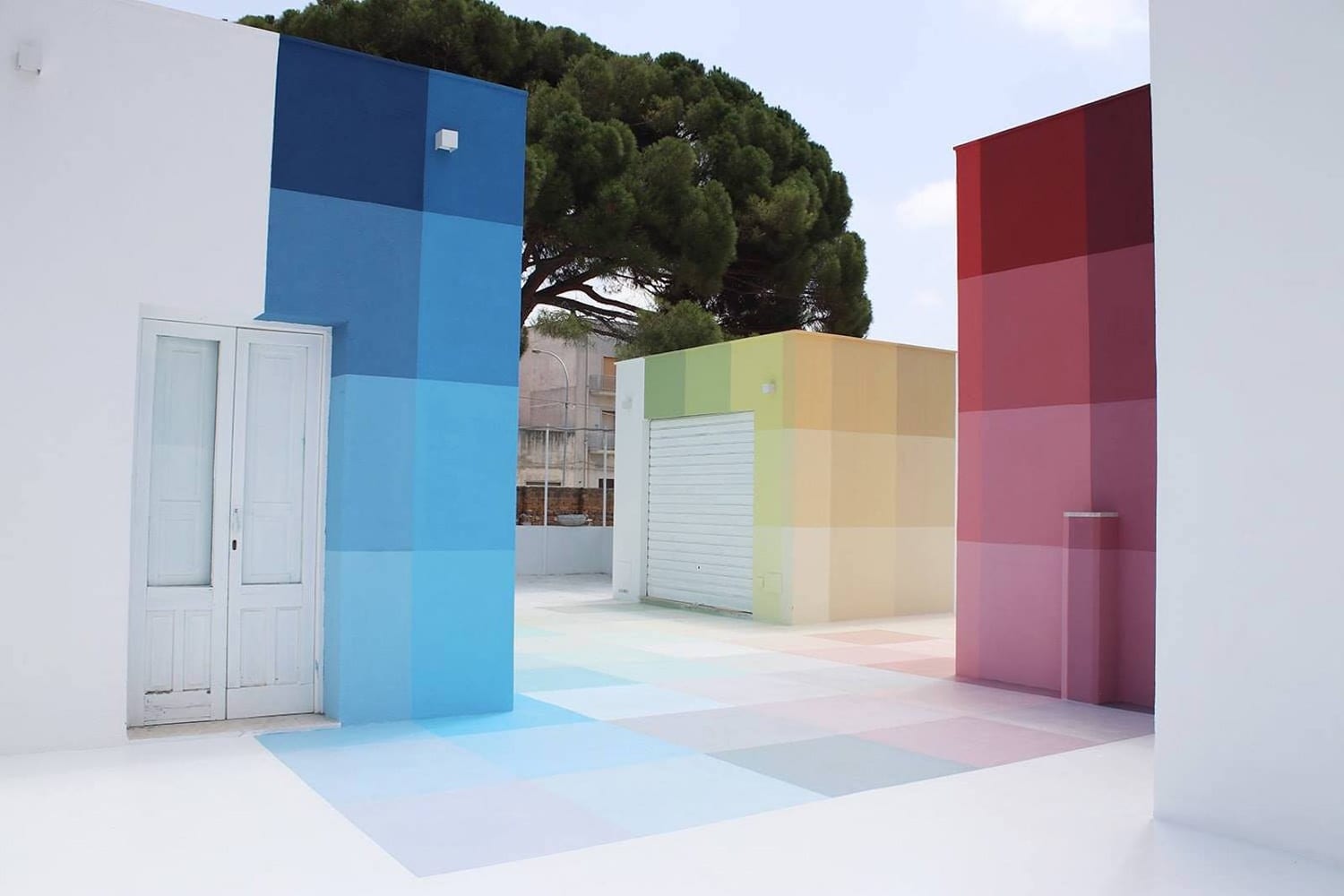 86+73 Chromatic Installation by Alberonero | Yellowtrace