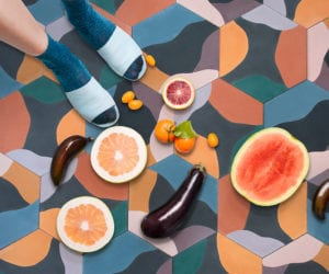 Fruit Salad Tiles by Juju Papers | Yellowtrace