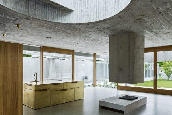 House in Binningen, Switzerland by Buchner Bründler Architects   Yellowtrace