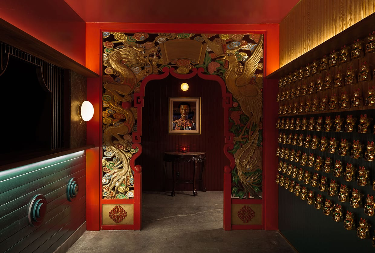 Miss Wong Restaurant in Quebec, Canada by Ménard Dworkind | Yellowtrace