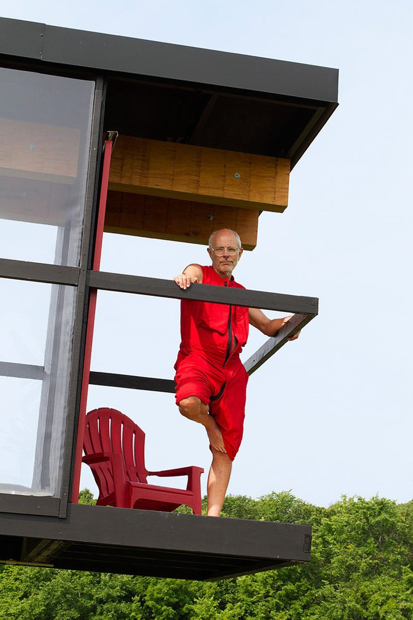 ReActor Balancing and Rotating House by Alex Schweder & Ward Shelley | Yellowtrace