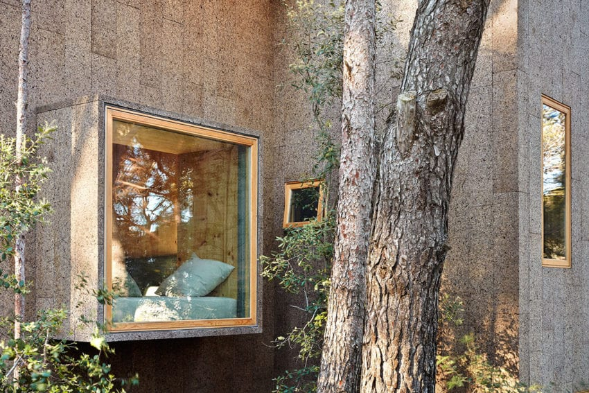 Two Cork Houses in Palafrugell, Costa Brava by López Rivera Architects | Yellowtrace