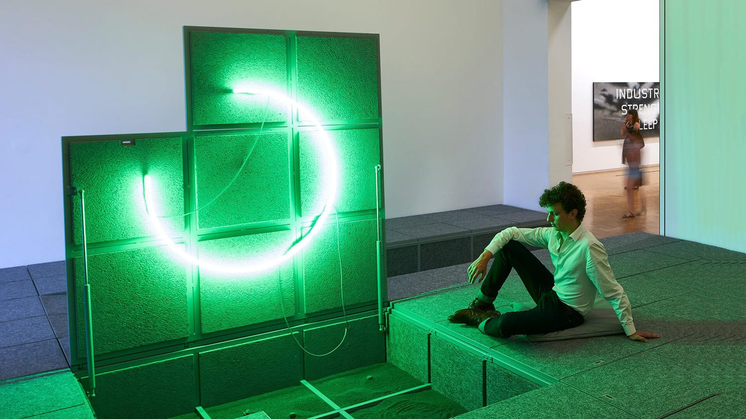 3-8 Installation by Leopold Banchini & Laure Jaffuel at Centre Pompidou in Paris | Yellowtrace