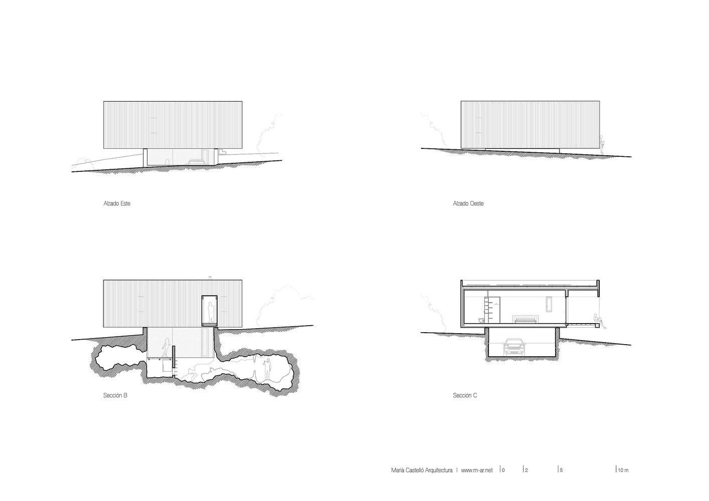 House on Formentera Island by Marià Castelló Martínez