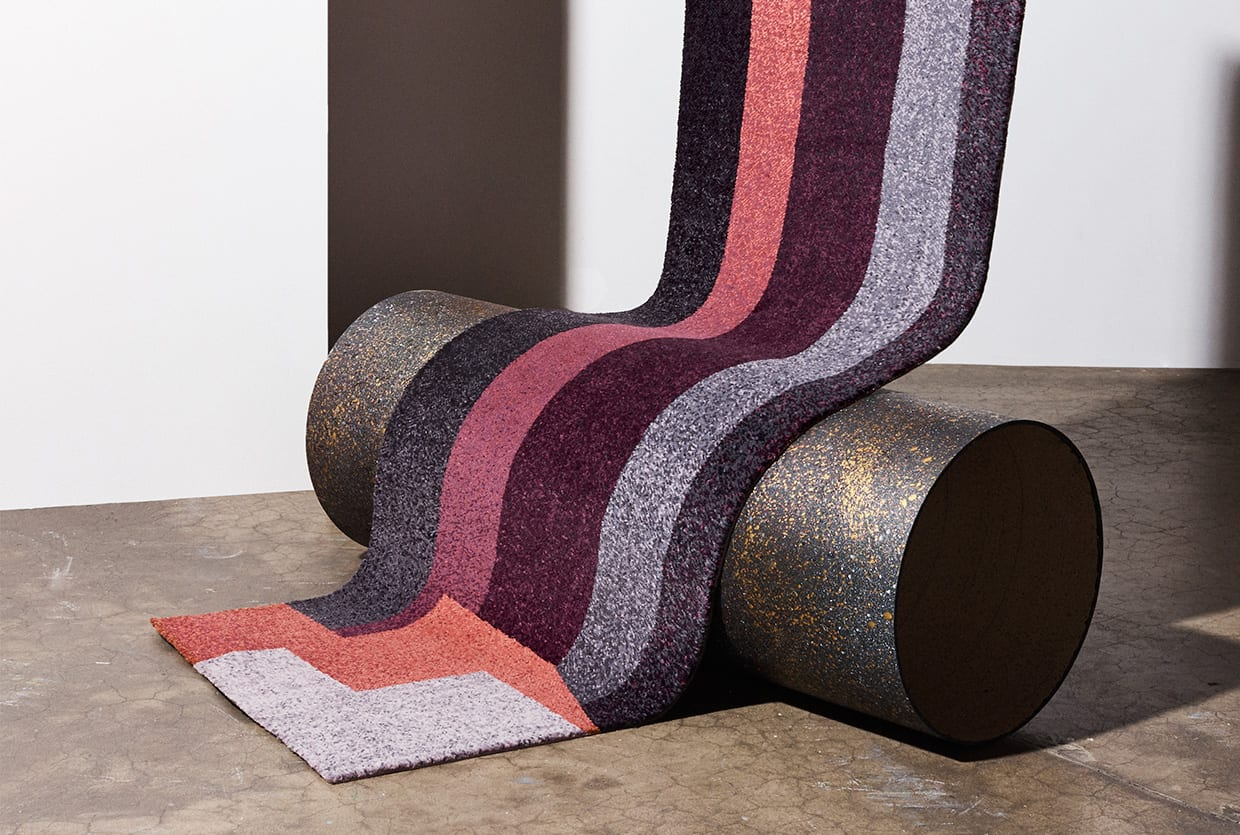 Composite Carpet Collection by Studio Elke for Brintons | Yellowtrace