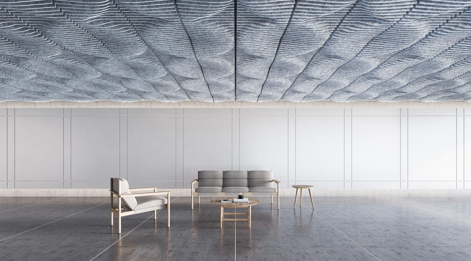 Ecoustic® Sculpt Collection: Ceiling Tile Design by Instyle | Yellowtrace