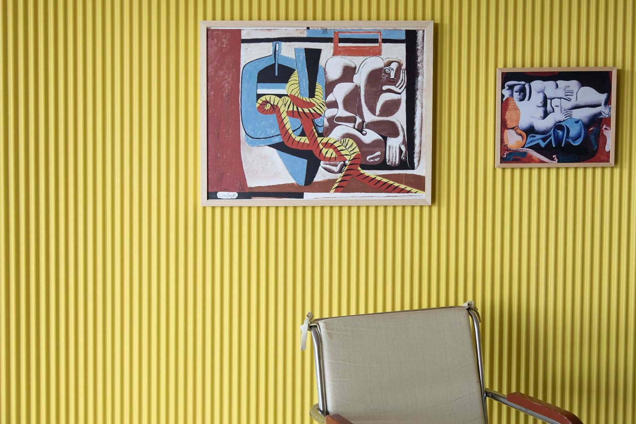 Le Corbusier's Paintings Exhibited in a Modernist Villa Stenersen in Oslo | Yellowtrace