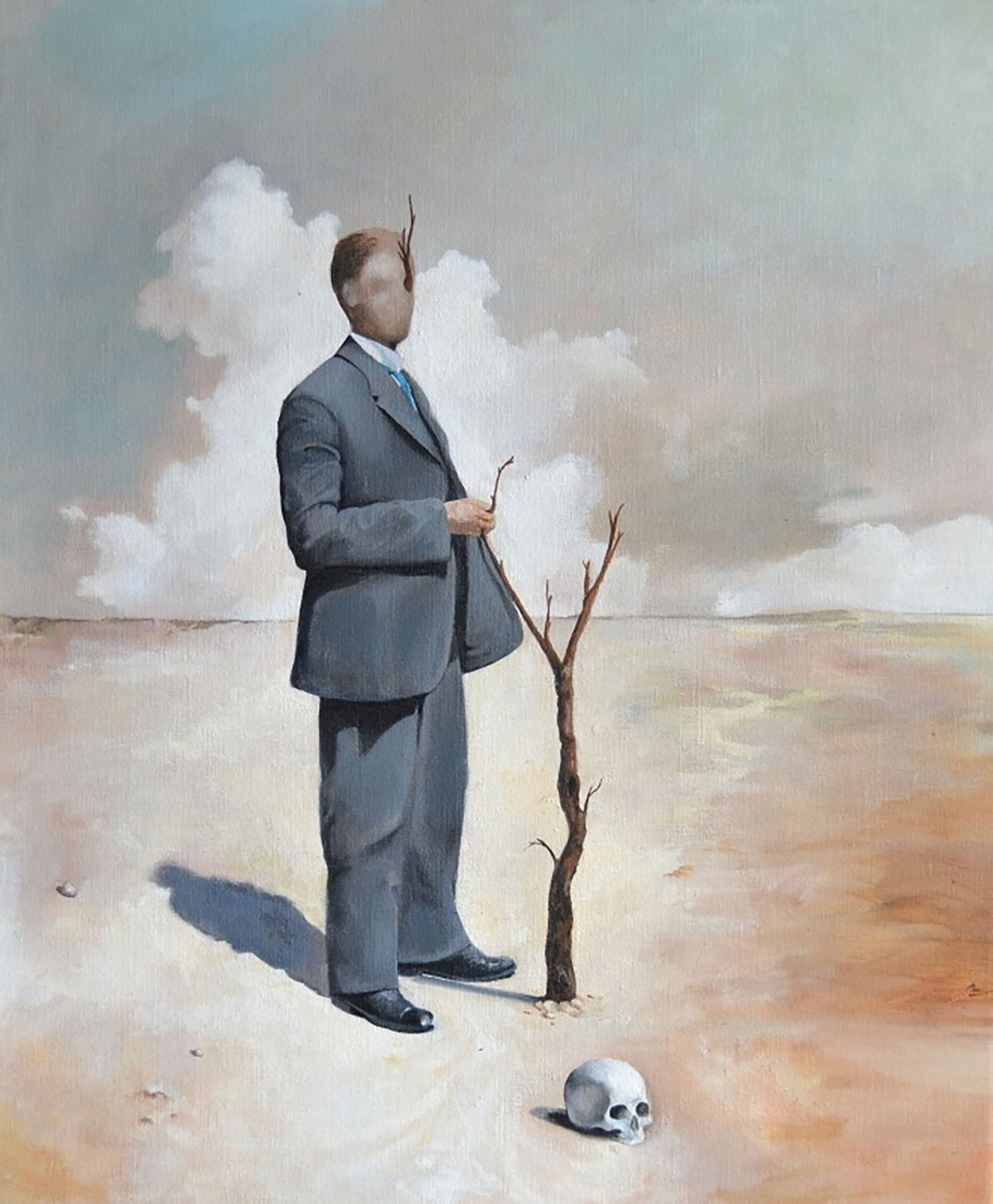 Martin Jonsson's Surreal & Enigmatic Paintings | Yellowtrace