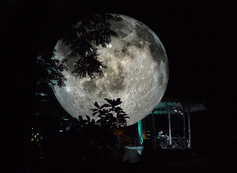 Museum of the Moon: Luke Jerram's Giant Illuminated Lunar Replica on World Tour | Yellowtrace