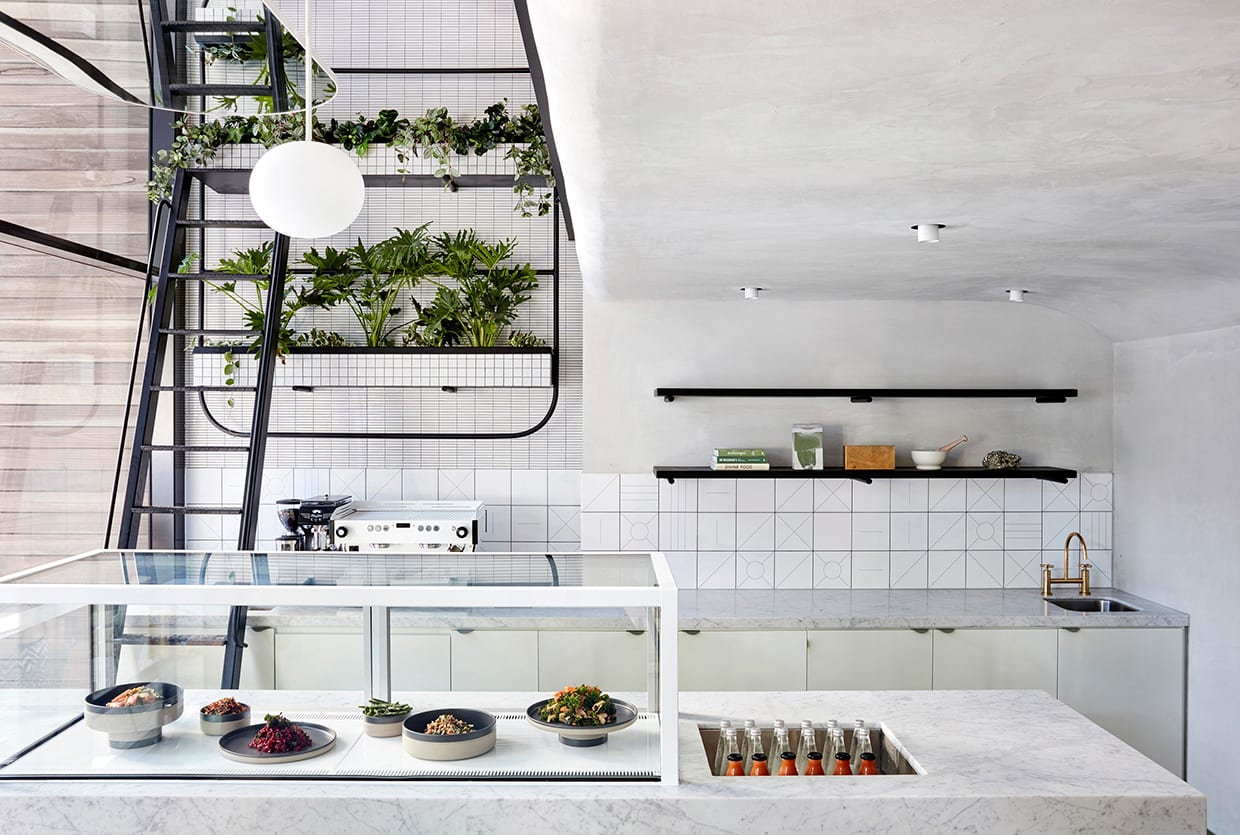 'Naim' Middle Eastern Cafe in Brisbane by The Stella Collective | Yellowtrace