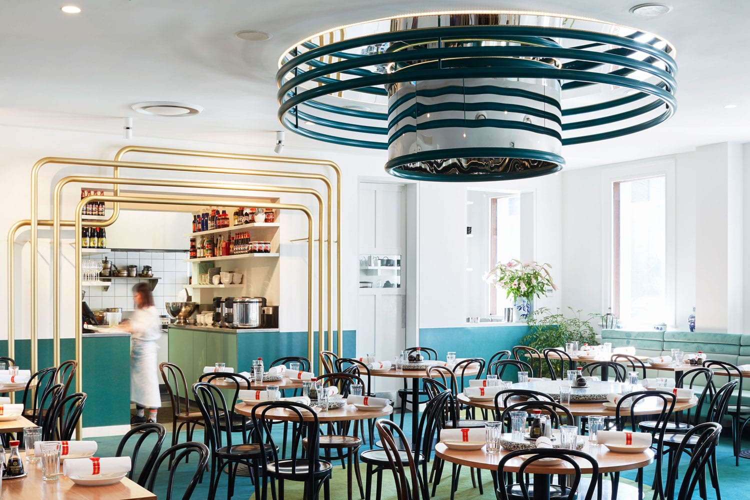 Ricky & Pinky Restaurant by Sibling Architecture | Yellowtrace
