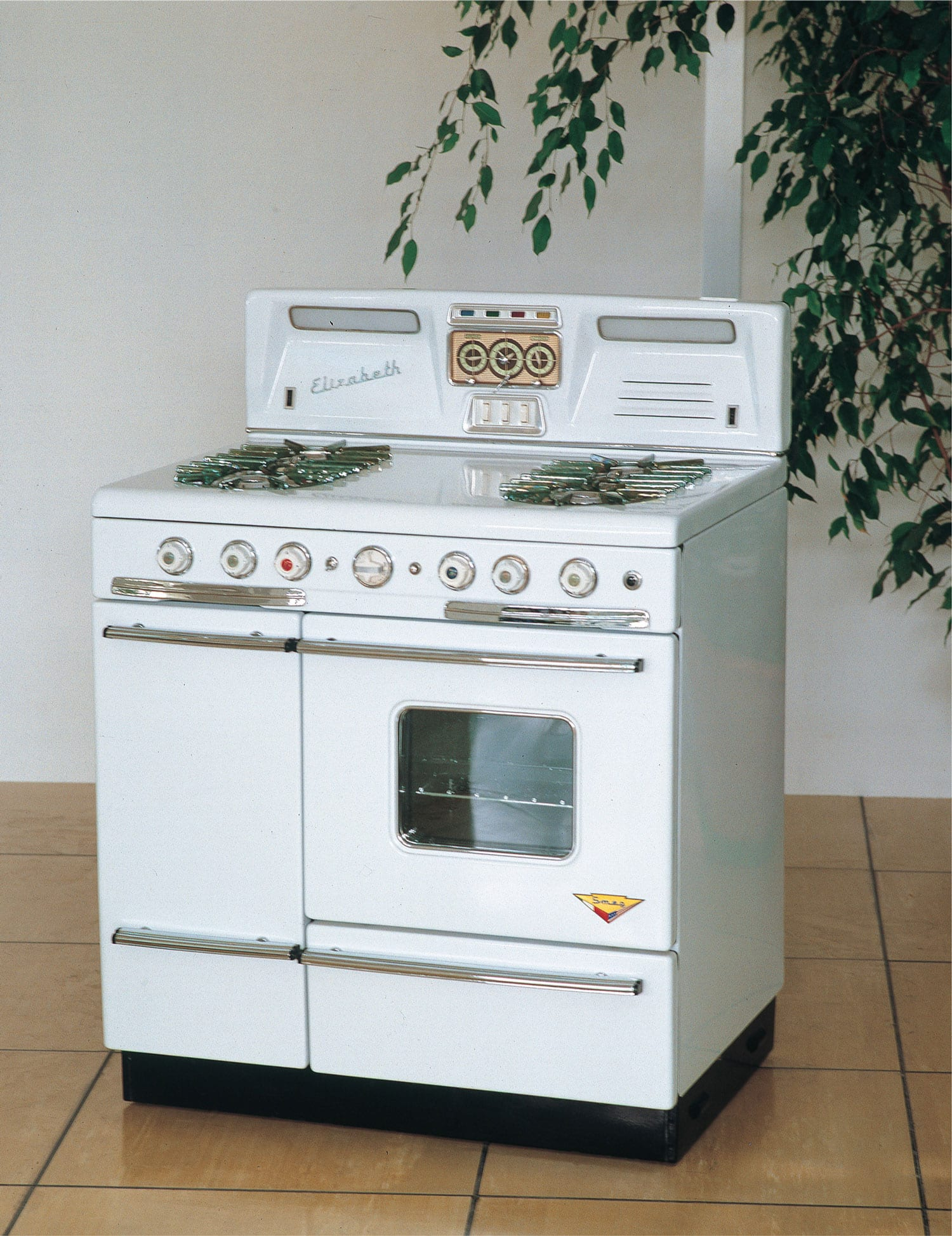 Smeg 1956 Flame Failure Cooker Elizabeth | Yellowtrace