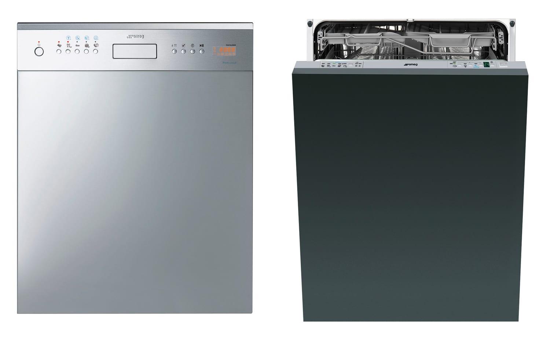 Smeg 2012 Semi Pro Alternative DWAUP364X & 6 Star Dishwasher DWAFI315T   Yellowtrace