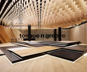 New Tongue N Groove Sydney Showroom Designed by Tobias Partners | Yellowtrace