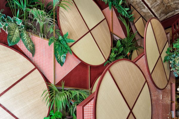 Tropical Sushi Restaurant in Valencia, Spain by Masquespacio | Yellowtrace