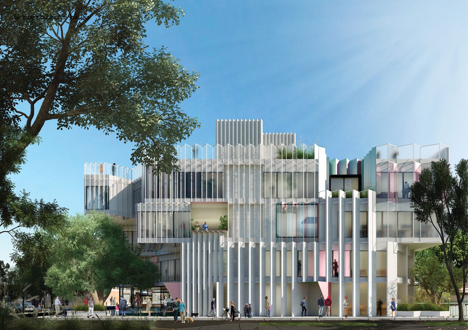Victorian Pride Centre by Sibling Architecture, Shortlisted entry in collaboration with BKK Architects | Yellowtrace