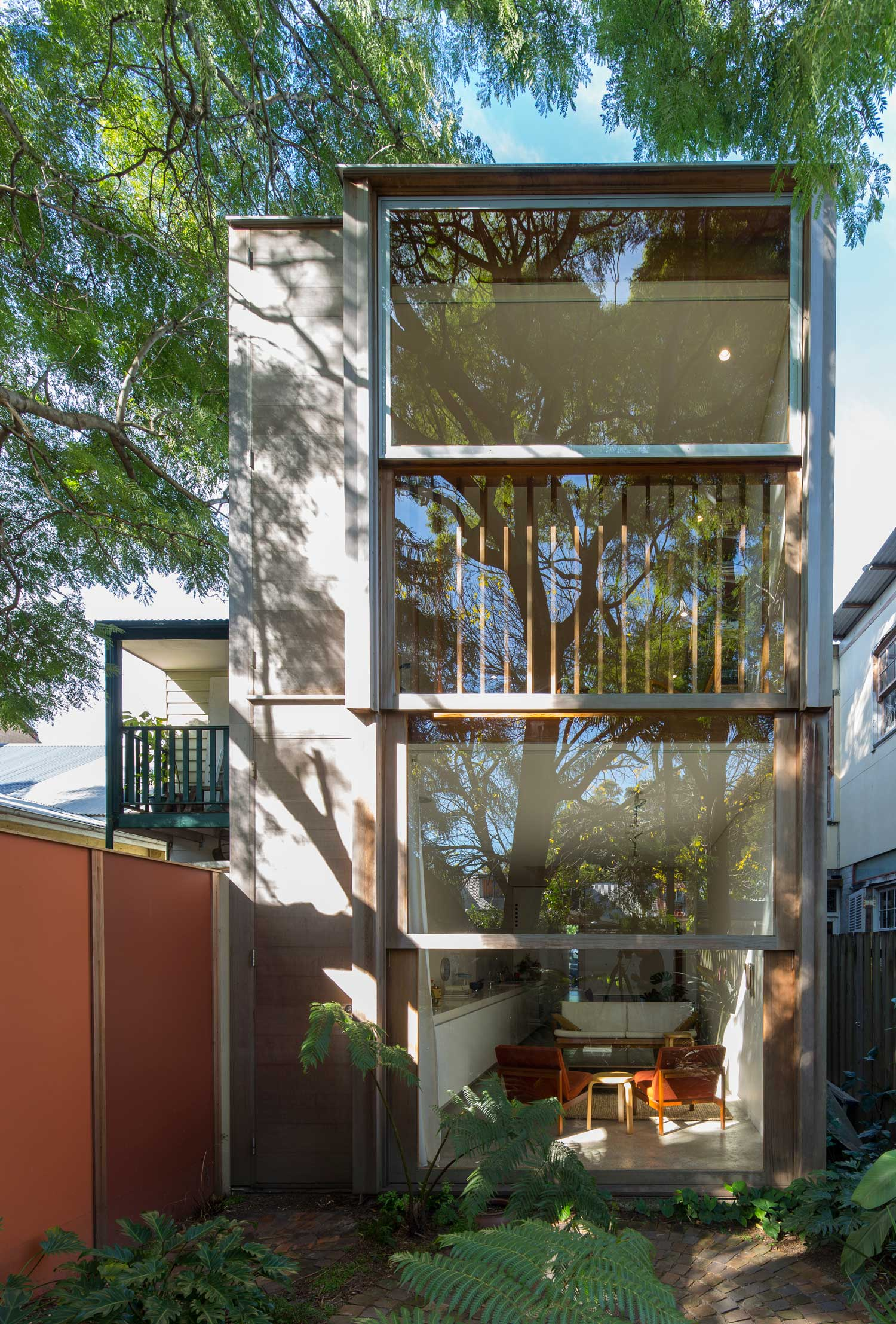 Armature for a Window Terrace House, Sydney by panovscott | Yellowtrace