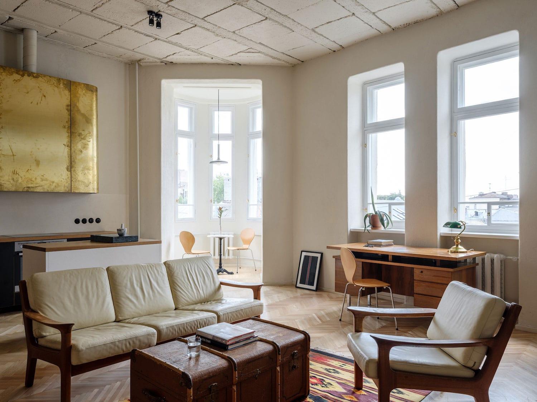 Birdsnest Apartment in Kiev, Ukraine by Emil Dervish   Yellowtrace