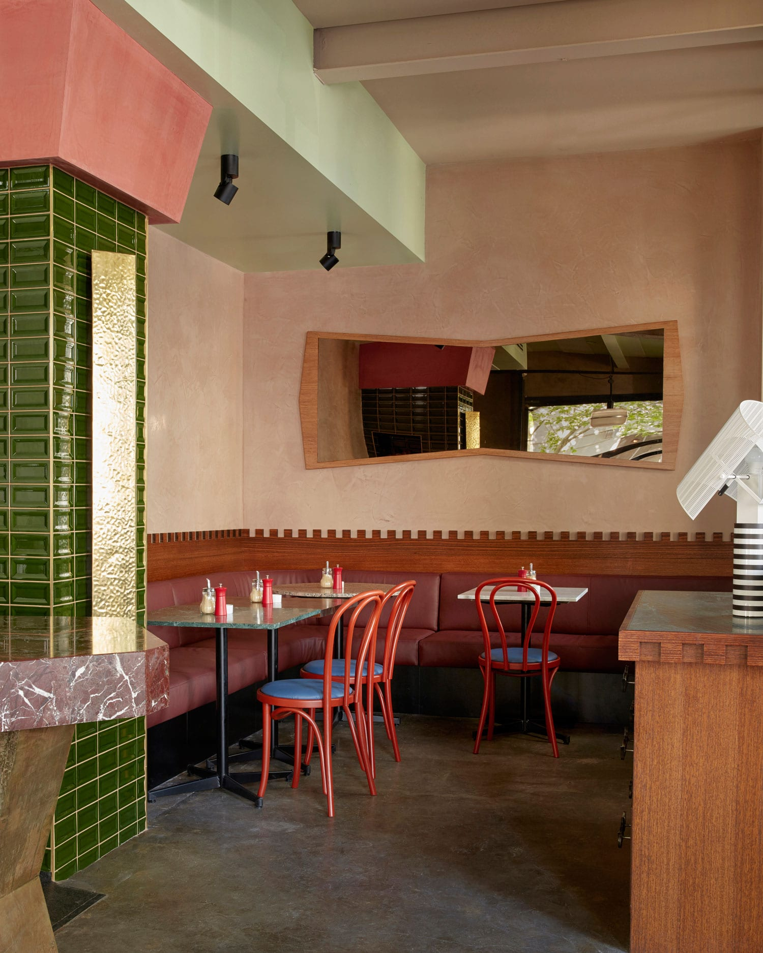 Gabriel Cafe in Fitzroy, Melbourne by Flack Studio | Yellowtrace