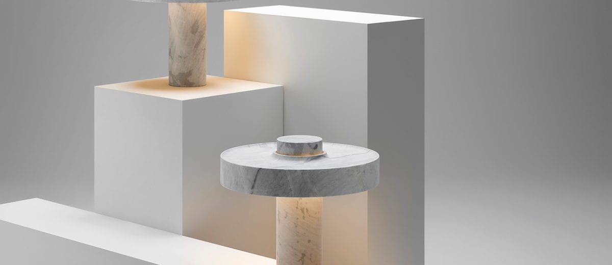 Ross Gardam's New Studio Space in Brunswick and Marble Desk Lamp for New Volumes | Yellowtrace
