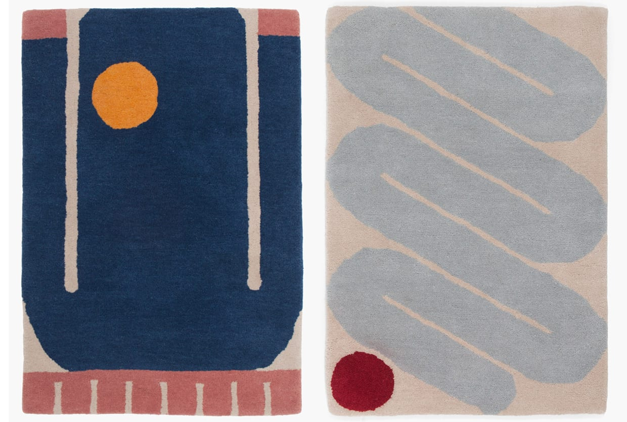 Slowdown Studio's First Rug Collection Designed by Evi O | Yellowtrace