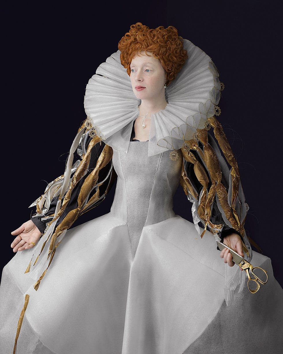 Suzanne Jongmans Uses Waste Materials to Recreate Dutch Renaissance | Yellowtrace