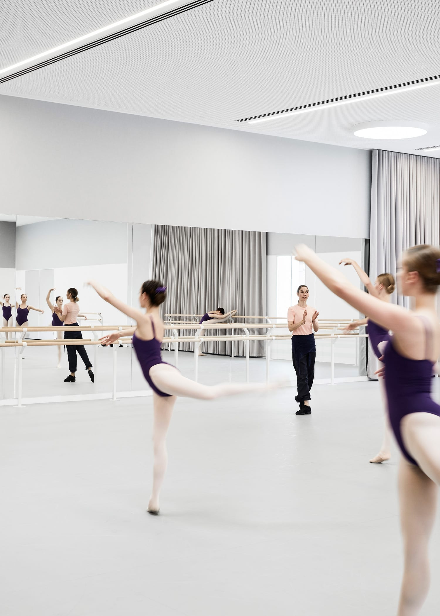 The Australian Ballet Refurbishment in Melbourne by HASSELL Studio | Yellowtrace